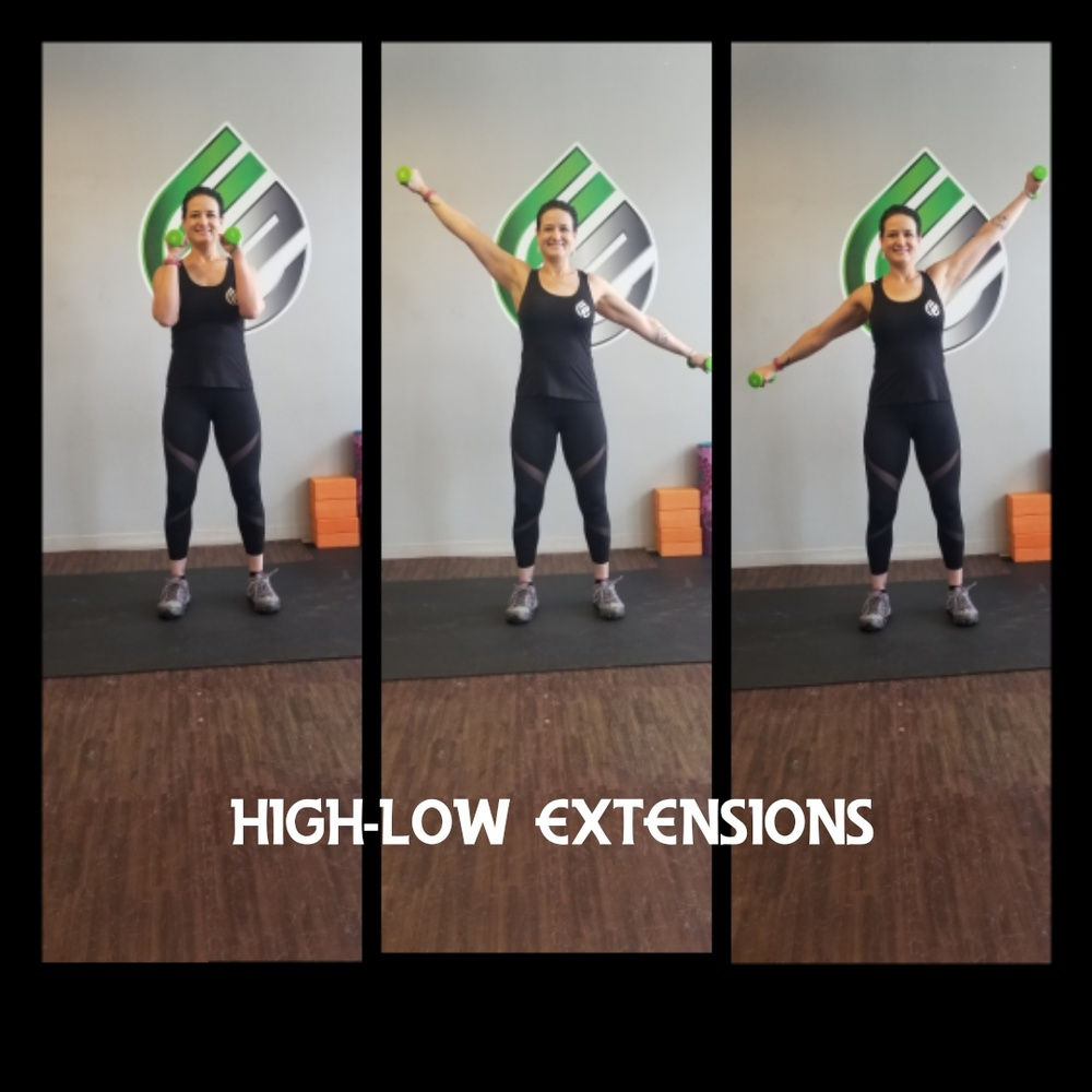 High Low Extensions